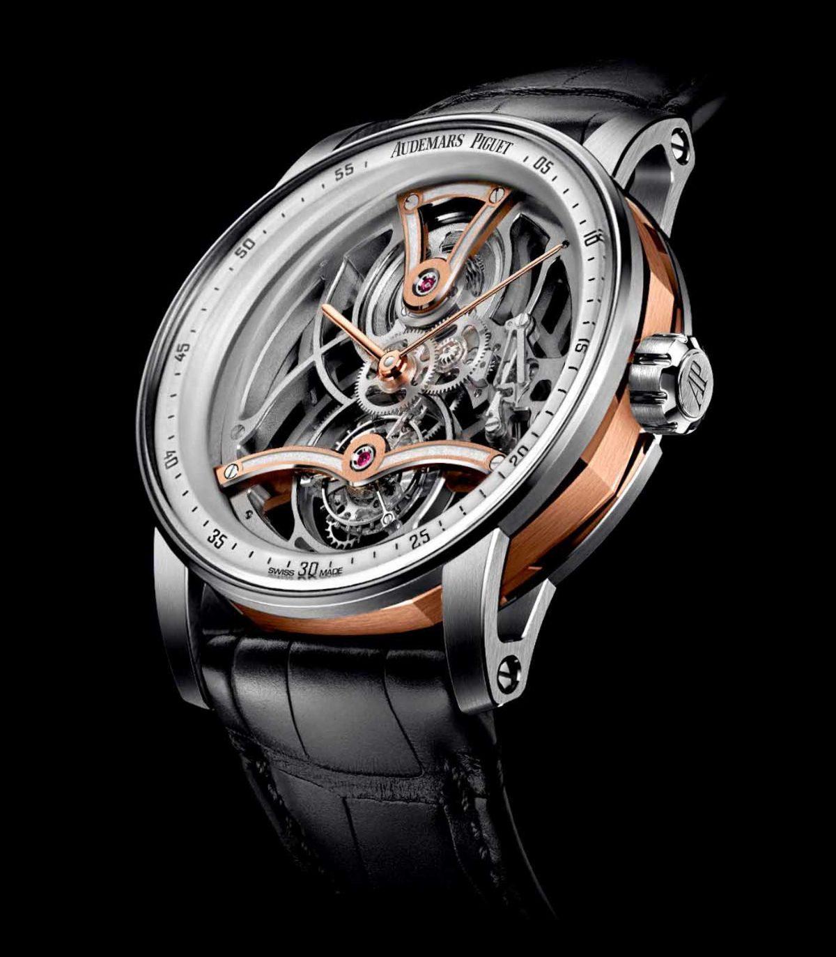Luxury Replica Audemars Piguet Code 11.59 Tourbillon Openworked Only Watch Edition