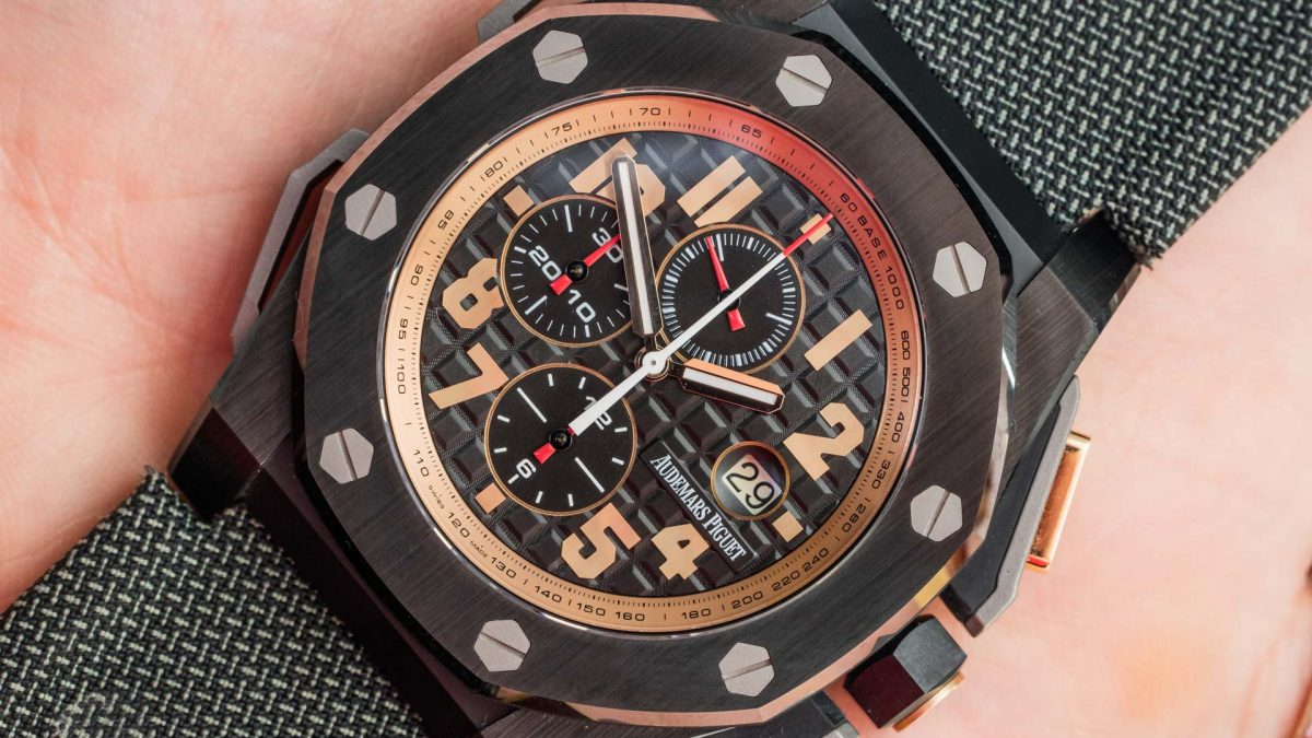 AAA Replica Audemars Piguet Royal Oak Offshore Arnold Schwarzenegger The Legacy Watch